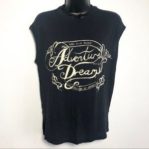 Free People - Adventures & Dreams graphic tank top